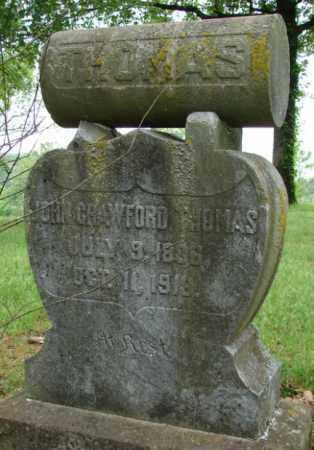 THOMAS, JOHN CRAWFORD - Pulaski County, Arkansas   JOHN CRAWFORD THOMAS - Arkansas Gravestone Photos