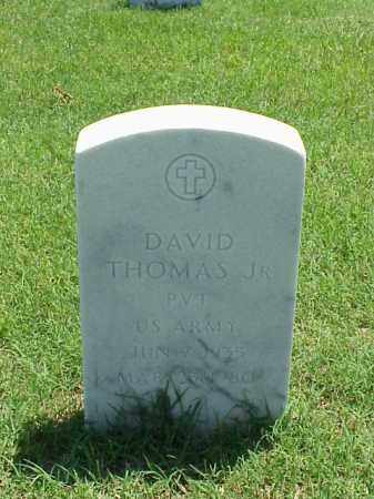 THOMAS, JR (VETERAN), DAVID - Pulaski County, Arkansas | DAVID THOMAS, JR (VETERAN) - Arkansas Gravestone Photos