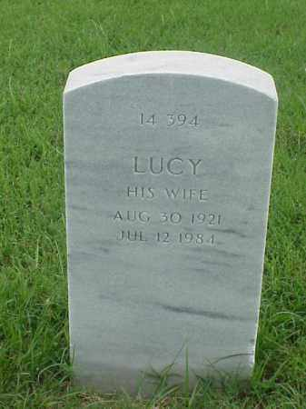 THOMAS, LUCY - Pulaski County, Arkansas | LUCY THOMAS - Arkansas Gravestone Photos