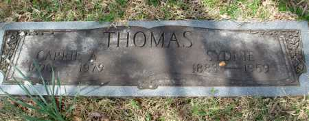 THOMAS, CAROLINA AUGUSTA - Pulaski County, Arkansas | CAROLINA AUGUSTA THOMAS - Arkansas Gravestone Photos