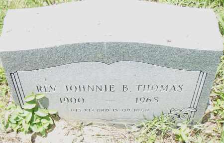 THOMAS REV, JOHNNY  B - Pulaski County, Arkansas | JOHNNY  B THOMAS REV - Arkansas Gravestone Photos