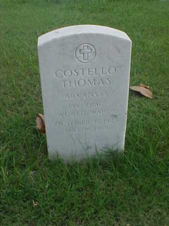 THOMAS (VETERAN 2 WARS), COSTELLO - Pulaski County, Arkansas | COSTELLO THOMAS (VETERAN 2 WARS) - Arkansas Gravestone Photos