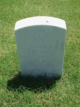 THOMAS (VETERAN 2 WARS), JOHN L - Pulaski County, Arkansas | JOHN L THOMAS (VETERAN 2 WARS) - Arkansas Gravestone Photos