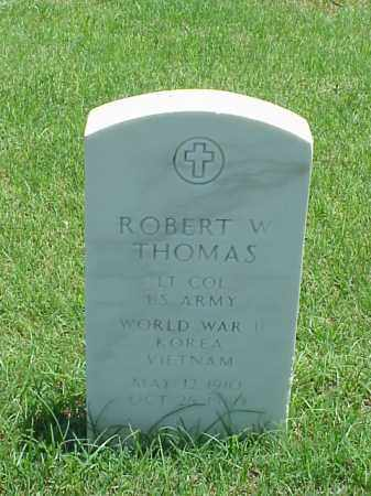 THOMAS (VETERAN 3 WARS), ROBERT W - Pulaski County, Arkansas | ROBERT W THOMAS (VETERAN 3 WARS) - Arkansas Gravestone Photos
