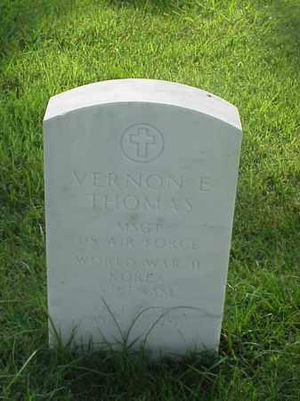 THOMAS (VETERAN 3 WARS), VERNON E - Pulaski County, Arkansas | VERNON E THOMAS (VETERAN 3 WARS) - Arkansas Gravestone Photos
