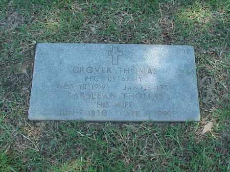 THOMAS (VETERAN WWII), GROVER - Pulaski County, Arkansas | GROVER THOMAS (VETERAN WWII) - Arkansas Gravestone Photos