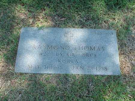THOMAS (VETERAN KOR), RAYMOND - Pulaski County, Arkansas | RAYMOND THOMAS (VETERAN KOR) - Arkansas Gravestone Photos