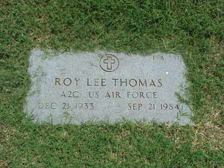 THOMAS (VETERAN), ROY LEE - Pulaski County, Arkansas | ROY LEE THOMAS (VETERAN) - Arkansas Gravestone Photos