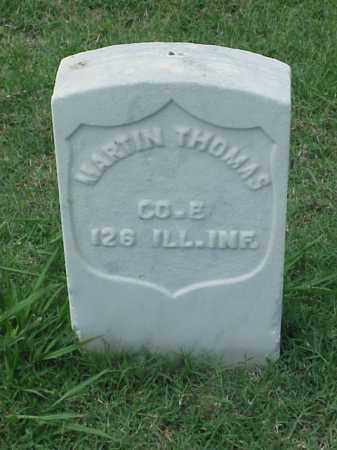 THOMAS (VETERAN UNION), MARTIN - Pulaski County, Arkansas | MARTIN THOMAS (VETERAN UNION) - Arkansas Gravestone Photos