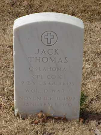 THOMAS (VETERAN WWI), JACK - Pulaski County, Arkansas | JACK THOMAS (VETERAN WWI) - Arkansas Gravestone Photos