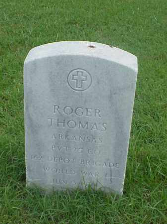 THOMAS (VETERAN WWI), ROGER - Pulaski County, Arkansas | ROGER THOMAS (VETERAN WWI) - Arkansas Gravestone Photos