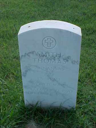 THOMAS (VETERAN WWI), SMITH - Pulaski County, Arkansas | SMITH THOMAS (VETERAN WWI) - Arkansas Gravestone Photos