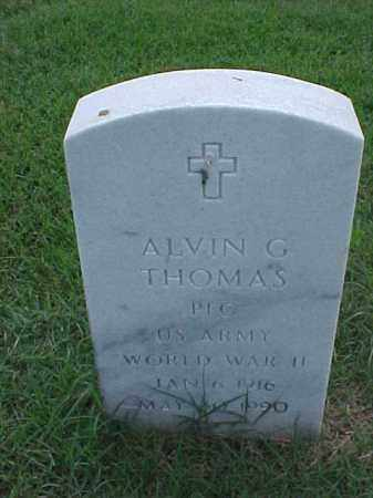 THOMAS (VETERAN WWII), ALVIN G - Pulaski County, Arkansas | ALVIN G THOMAS (VETERAN WWII) - Arkansas Gravestone Photos