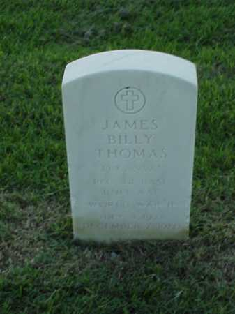 THOMAS (VETERAN WWII), JAMES BILLY - Pulaski County, Arkansas | JAMES BILLY THOMAS (VETERAN WWII) - Arkansas Gravestone Photos