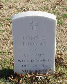 THOMAS (VETERAN WWII), LONNIE - Pulaski County, Arkansas | LONNIE THOMAS (VETERAN WWII) - Arkansas Gravestone Photos