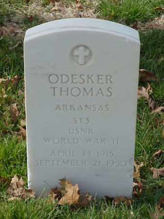 THOMAS (VETERAN WWII), ODESKER - Pulaski County, Arkansas | ODESKER THOMAS (VETERAN WWII) - Arkansas Gravestone Photos