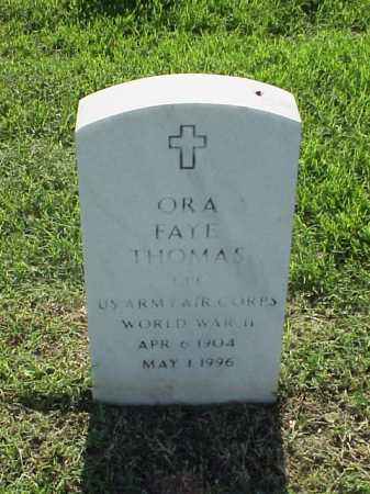 THOMAS (VETERAN WWII), ORA FAYE - Pulaski County, Arkansas | ORA FAYE THOMAS (VETERAN WWII) - Arkansas Gravestone Photos
