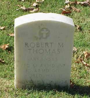 THOMAS (VETERAN WWII), ROBERT M - Pulaski County, Arkansas | ROBERT M THOMAS (VETERAN WWII) - Arkansas Gravestone Photos