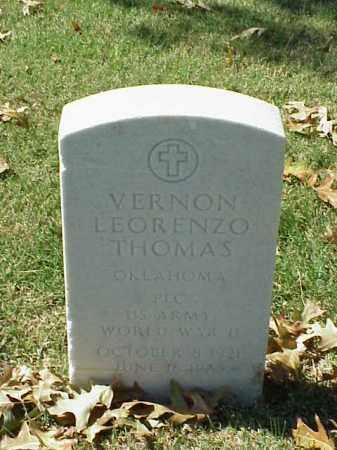 THOMAS (VETERAN WWII), VERNON LEORENZO - Pulaski County, Arkansas | VERNON LEORENZO THOMAS (VETERAN WWII) - Arkansas Gravestone Photos