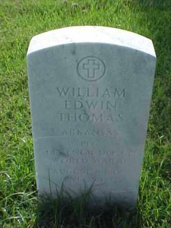 THOMAS (VETERAN WWII), WILLIAM EDWIN - Pulaski County, Arkansas | WILLIAM EDWIN THOMAS (VETERAN WWII) - Arkansas Gravestone Photos