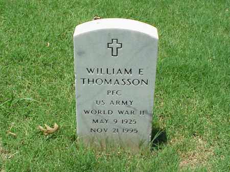 THOMASSON (VETERAN WWII), WILLIAM E - Pulaski County, Arkansas | WILLIAM E THOMASSON (VETERAN WWII) - Arkansas Gravestone Photos