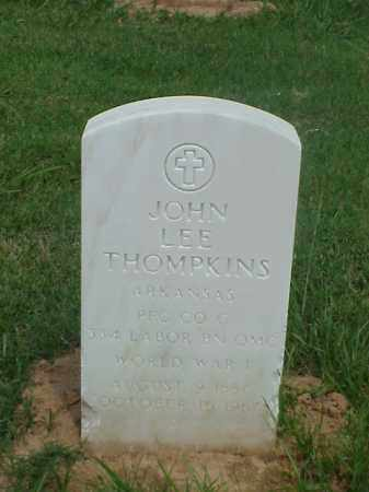 THOMPKINS (VETERAN WWI), JOHN LEE - Pulaski County, Arkansas | JOHN LEE THOMPKINS (VETERAN WWI) - Arkansas Gravestone Photos