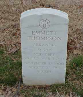 THOMPSON  (VETERAN 2 WARS), EMMETT - Pulaski County, Arkansas | EMMETT THOMPSON  (VETERAN 2 WARS) - Arkansas Gravestone Photos