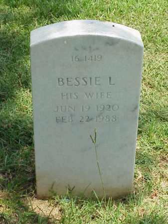 THOMPSON, BESSIE L - Pulaski County, Arkansas | BESSIE L THOMPSON - Arkansas Gravestone Photos