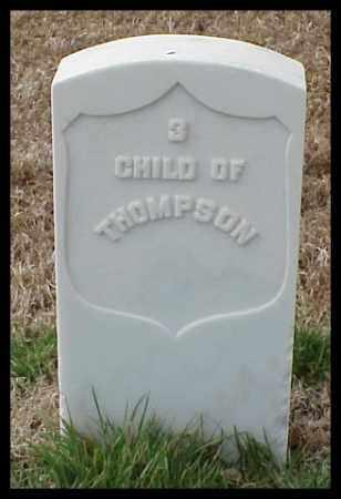 THOMPSON, CHILD - Pulaski County, Arkansas | CHILD THOMPSON - Arkansas Gravestone Photos