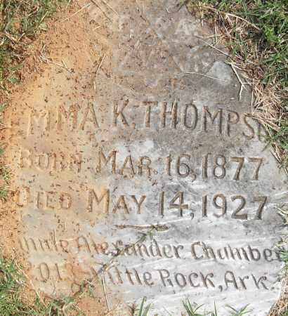 THOMPSON, EMMA K - Pulaski County, Arkansas | EMMA K THOMPSON - Arkansas Gravestone Photos