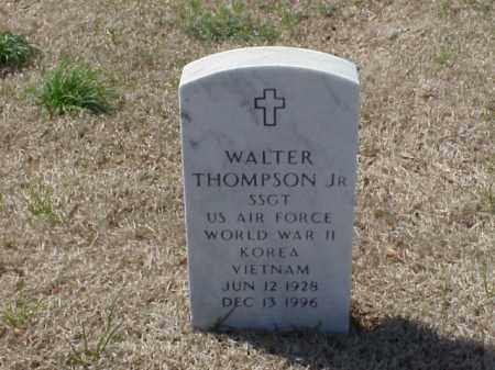 THOMPSON, JR (VETERAN 3 WARS), WALTER - Pulaski County, Arkansas | WALTER THOMPSON, JR (VETERAN 3 WARS) - Arkansas Gravestone Photos