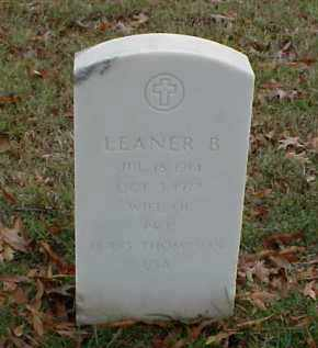 THOMPSON, LEANER B - Pulaski County, Arkansas | LEANER B THOMPSON - Arkansas Gravestone Photos