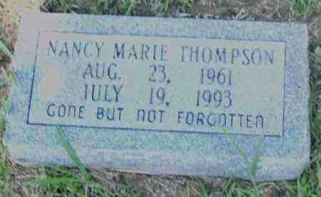 THOMPSON, NANCY, MARIE - Pulaski County, Arkansas | NANCY, MARIE THOMPSON - Arkansas Gravestone Photos