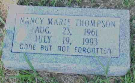 THOMPSON, NANCY, MARIE - Pulaski County, Arkansas | NANCY, MARIE THOMPSON - Arkansas Gravestone Photos