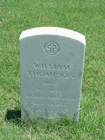 THOMPSON (VETERAN 2 WARS), WILLIAM - Pulaski County, Arkansas | WILLIAM THOMPSON (VETERAN 2 WARS) - Arkansas Gravestone Photos