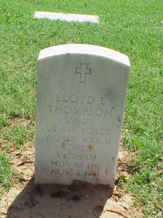 THOMPSON (VETERAN 3 WARS), LLOYD E - Pulaski County, Arkansas | LLOYD E THOMPSON (VETERAN 3 WARS) - Arkansas Gravestone Photos