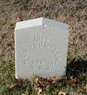 THOMPSON (VETERAN CSA), G W - Pulaski County, Arkansas | G W THOMPSON (VETERAN CSA) - Arkansas Gravestone Photos