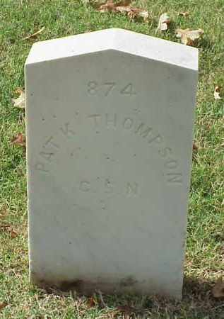 THOMPSON (VETERAN CSA), PATRICK K - Pulaski County, Arkansas | PATRICK K THOMPSON (VETERAN CSA) - Arkansas Gravestone Photos