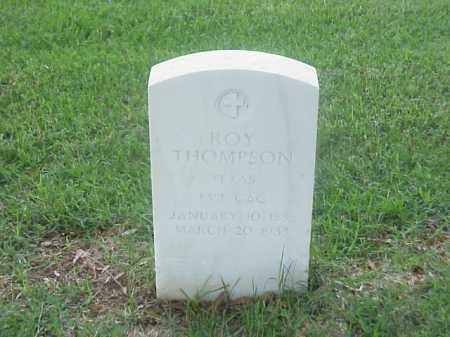 THOMPSON (VETERAN), ROY - Pulaski County, Arkansas | ROY THOMPSON (VETERAN) - Arkansas Gravestone Photos