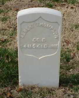 THOMPSON (VETERAN UNION), ALBERT - Pulaski County, Arkansas | ALBERT THOMPSON (VETERAN UNION) - Arkansas Gravestone Photos