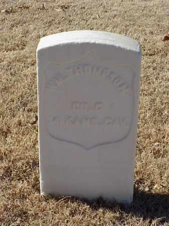 THOMPSON (VETERAN UNION), WILLIAM - Pulaski County, Arkansas | WILLIAM THOMPSON (VETERAN UNION) - Arkansas Gravestone Photos