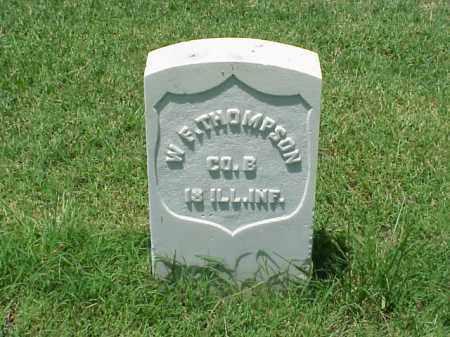 THOMPSON (VETERAN UNION), W F - Pulaski County, Arkansas   W F THOMPSON (VETERAN UNION) - Arkansas Gravestone Photos