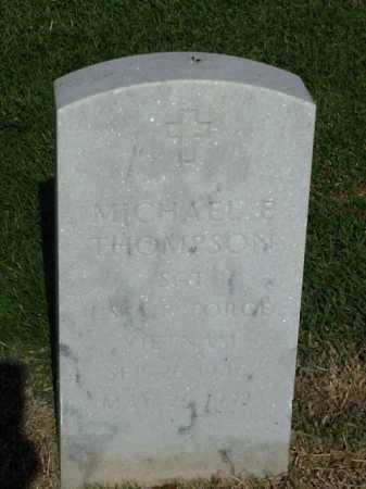 THOMPSON (VETERAN VIET), MICHAEL E - Pulaski County, Arkansas | MICHAEL E THOMPSON (VETERAN VIET) - Arkansas Gravestone Photos