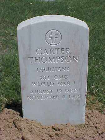 THOMPSON (VETERAN WWI), CARTER - Pulaski County, Arkansas | CARTER THOMPSON (VETERAN WWI) - Arkansas Gravestone Photos