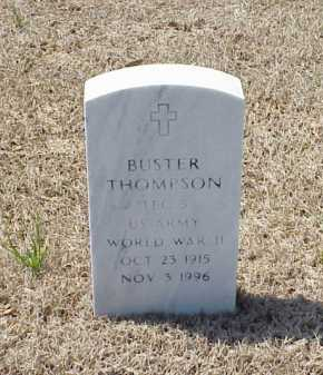 THOMPSON (VETERAN WWII), BUSTER - Pulaski County, Arkansas | BUSTER THOMPSON (VETERAN WWII) - Arkansas Gravestone Photos