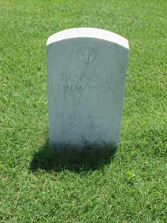 THOMPSON (VETERAN WWII), DENNIS L - Pulaski County, Arkansas | DENNIS L THOMPSON (VETERAN WWII) - Arkansas Gravestone Photos