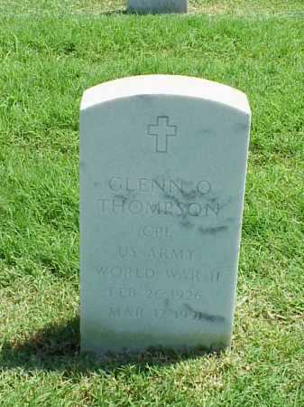 THOMPSON (VETERAN WWII), GLENN O - Pulaski County, Arkansas | GLENN O THOMPSON (VETERAN WWII) - Arkansas Gravestone Photos