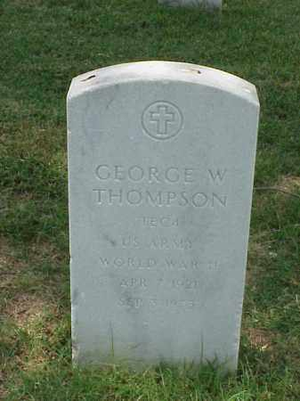 THOMPSON (VETERAN WWII), GEORGE W - Pulaski County, Arkansas | GEORGE W THOMPSON (VETERAN WWII) - Arkansas Gravestone Photos