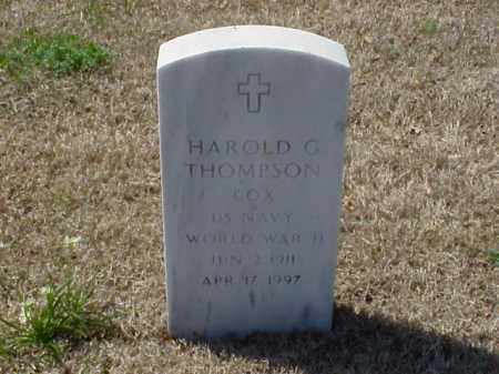 THOMPSON (VETERAN WWII), HAROLD G - Pulaski County, Arkansas | HAROLD G THOMPSON (VETERAN WWII) - Arkansas Gravestone Photos
