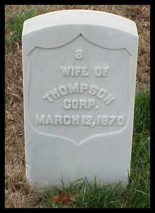THOMPSON, WIFE - Pulaski County, Arkansas | WIFE THOMPSON - Arkansas Gravestone Photos